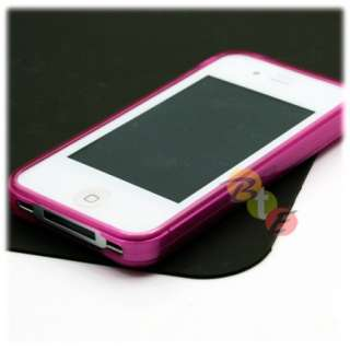 4x SOFT TPU SILICONE GEL CASE COVER iPHONE 4 4TH GEN