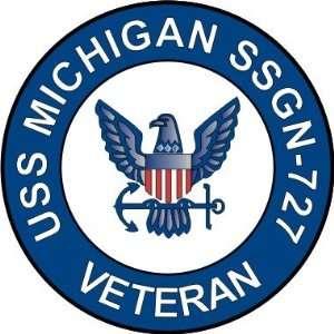 US Navy USS Michigan SSGN 727 Ship Veteran Decal Sticker 5