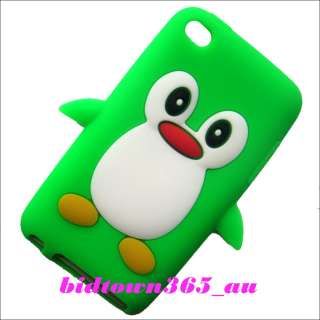 Brand New 1 Piece X Cute Penguin Soft Gel Silicone Back Case Cover for