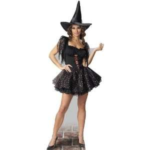 Glitter Witch (Halloween) Life Size Standup Poster