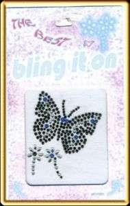 Rhinestone Stickers BUTTERFLY Body Tattoos Jewels #180