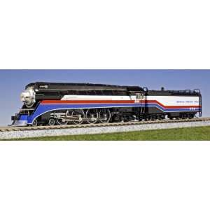 Kato N Scale Steam GS 4 4 8 4   Standard DC   American Freedom Train