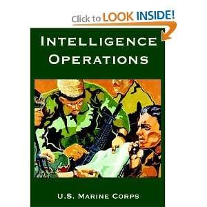 Intelligence Operations (9781410222480) U.S. Marine Corps