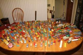 Huge Lot Cars Trucks Dinky Lupor Buddy L Corgi LineMar Lesney Tootsie