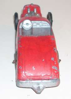 Vintage Tootsietoy Red Ford V8 Metal Hot Rod / Race Car