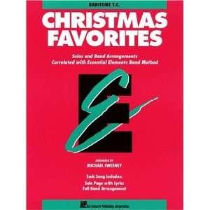 Christmas Favorites Baritone TC (9780793517640) Various Books