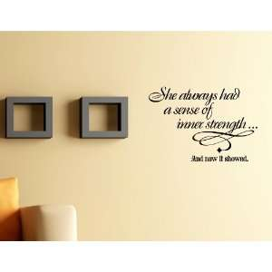 Now It Showed Vinyl Wall Quotes Stickers Sayings Home Art Decor Decal