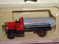 Chevron Zerolene 1911 Chain Drive Tank Truck, Diecast