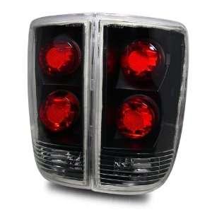 95 00 Chevy Blazer Black Tail Lights Automotive
