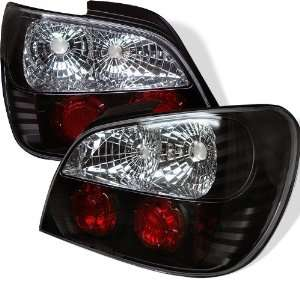 2002 2003 Subaru Impreza Black SR Altezza Tail Lights Automotive