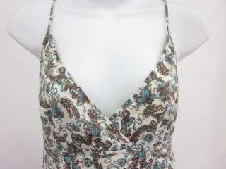 ZARA TRF Multicolor Floral Print Sleeveless Dress Sz M
