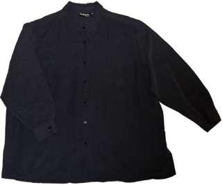 Womens BLACK Shirt STYLE & CO WOMAN Blouse PLUS Size 22W