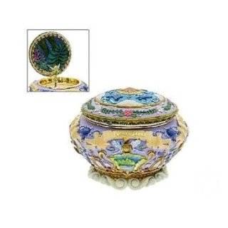 Disney Charming Tinker Bell Egg Shaped Porcelain Music Box
