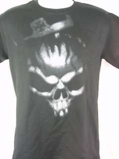 Triple H King of Kings Big Gray Skull T shirt WWE New