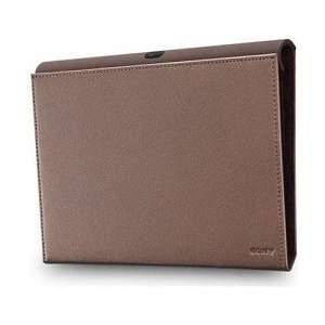 Sony SGPCV1/T Tablet SLeather Cover   Brown Electronics