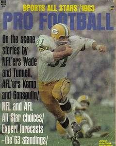 1963 Sports All Stars, Pro Football, magazine, Jim Taylor, Green Bay