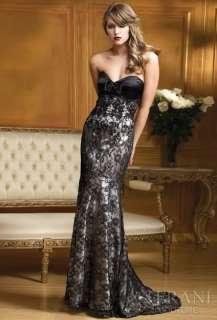 Slinky mermaid custom black wedding evening dress prom ball party gown