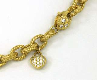 DESIGNER 18K GOLD & DIAMONDS LADIES NECKLACE