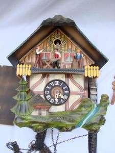 Vintage SCHMECKENBECHER German CUCKOO CLOCK