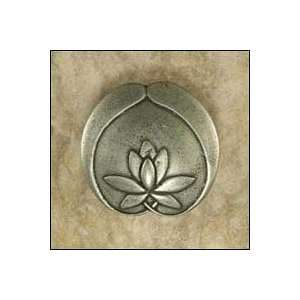 3 Asian Lotus Flower Knob (Anne at Home 2265 Cabinet Knob