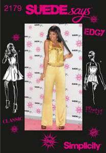 Simplicity Pattern 2179 Womens Dress Top Jumpsuit
