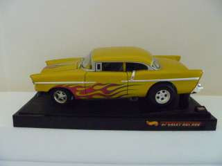Hot Wheels Collectibles '57 Chevy Hot Rod Car   Sweet