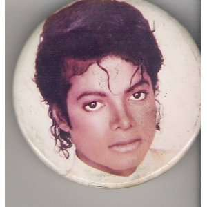 Michael Jackson, Original Tour Buttons, pin back