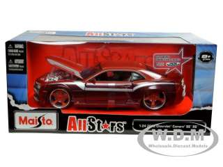 2010 CHEVROLET CAMARO SS RS BURGUNDY CUSTOM 124 MODEL CAR BY MAISTO