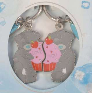 ME TO YOU BEST FRIENDS TATTY TEDDY BEAR 2 PART KEYRINGS