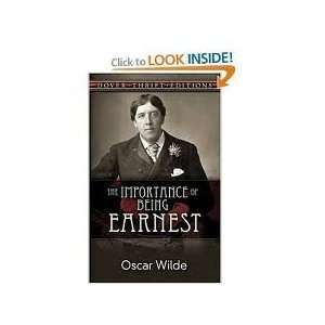 of Being Earnest Publisher Dover Publications Oscar Wilde Books