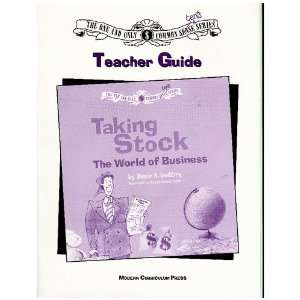 COMMON CENTS TAKING STOCK, TEACHER GUIDE (NEALE GODFREY MONEY