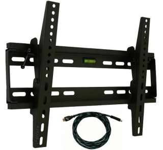 LCD LED PLASMA FLAT PANEL TILT TV WALL MOUNT 22 24 25 26 27 30 32 37