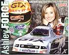 2007 ASHLEY FORCE FORD MUSTANG FUNNY CAR CASTROL GTX POSTCARD!