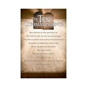 Church Bulletin; The Ten COmmandments: Office Products