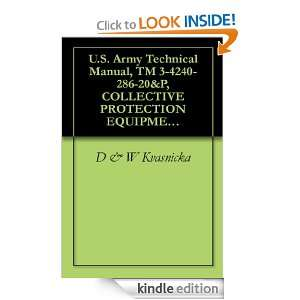 Army Technical Manual, TM 3 4240 286 20&P, COLLECTIVE PROTECTION
