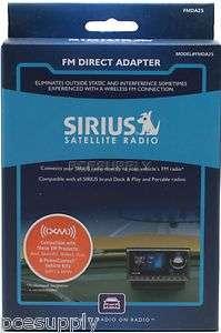 Sirius FMDA25 Radio FM Direct Adapter Wired Modulator 884720004032