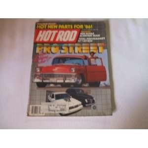 Hot Rod Magazine November 1985 Pro Street Hot Rod Magazine Books