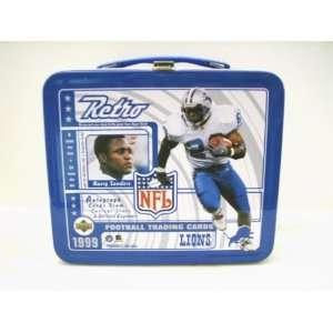 Barry Sanders (HOF)   Detroit Lions 1999 NFL Lunch Box