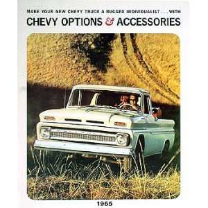 Chevrolet Van, Pickup & Truck Reprint Accessory Catalog Set Chevrolet
