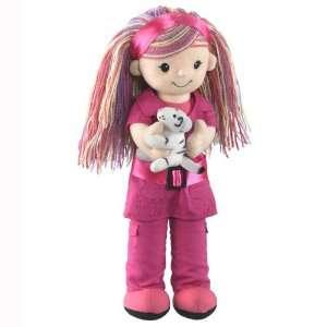 Researcher W/white Tiger Stuffed Animal Plush Toy Toys & Games