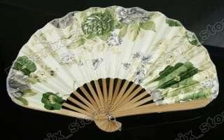 Silk Hand Fan Little Vintage Pattern Folding Fans #325
