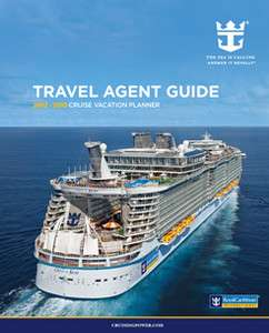 ROYAL CARIBBEAN TRAVEL AGENT CRUISE GUIDE 2012 13 New