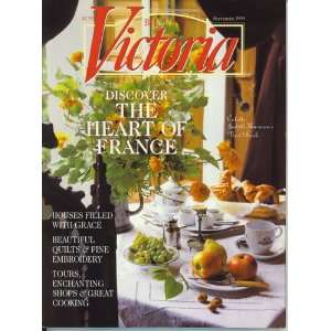Victoria Magazine September 1999 Victoria Magazine Editors Books