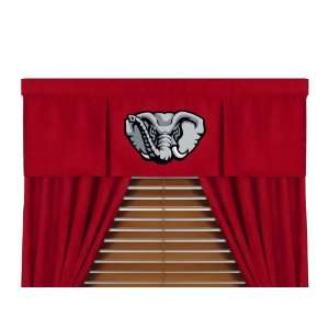 Alabama Crimson Tide MVP Collection NCAA Logo Valance And