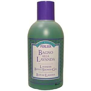 Perlier Lavender Bath & Shower Gel Large 33.7 Fl.Oz. Bottle Beauty