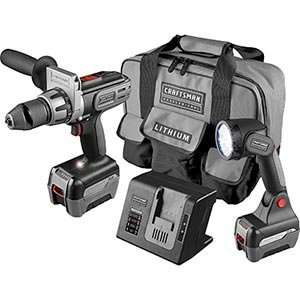 Craftsman® ProfessionalTM 20 Volt 2 tool Combo Kit   Includes Drill