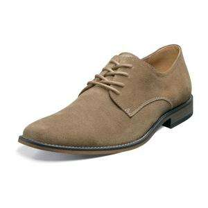Stacy Adams Tate Mens Suede Shoes Sand 24646