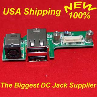NEW DELL INSPIRON 1525 1526 POWER BOARD 48.4W006.021 AC DC JACK USB