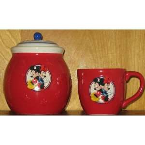 Minnie Mouse Ceramic Mug & Canister Set