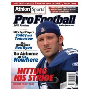 Athlon Sports 2010 NFL Pro Football Preview Magazine